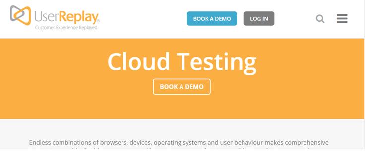 Narzędzie do testowania chmury w celu przetestowania strony internetowej