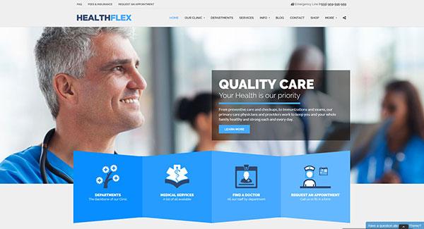 5 WordPress temas para website dental | BlogPasCher