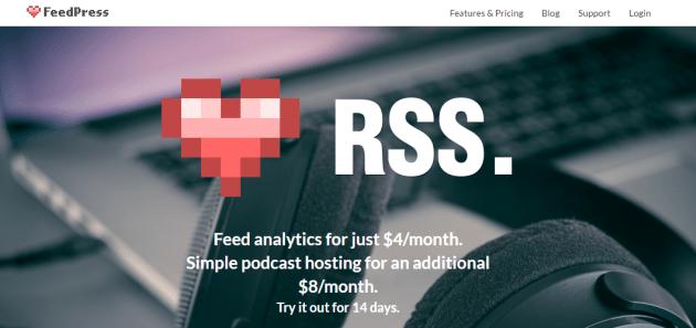 ferramenta feedpress para feed RSS