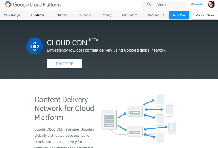 google-cloud-cdn pour WordPress
