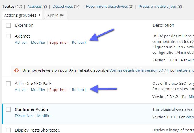 Cómo actualizar un plugin de WordPress de forma automática   BlogPasCher