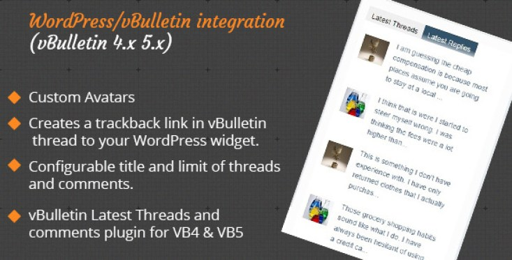 VBulletin Latest Threads