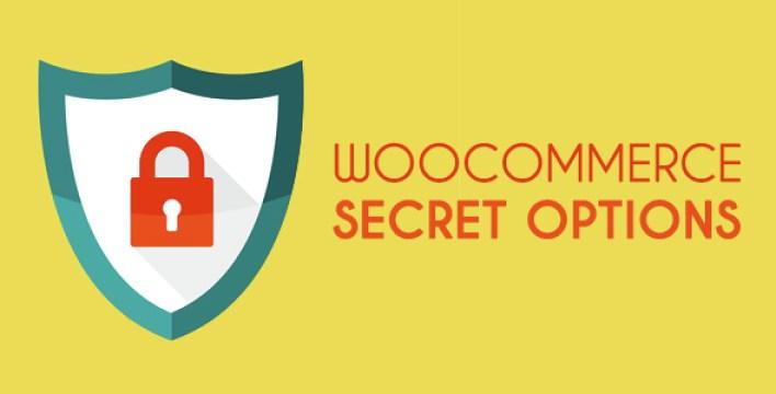 Opções secretas WooCommerce