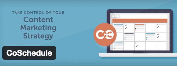 coschedule plugin pour calendrier sur WordPress