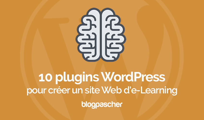 Plugin Wordpress Créer Site Web E Learning