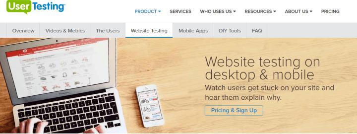 user-testing plugin pour la gestion du panier