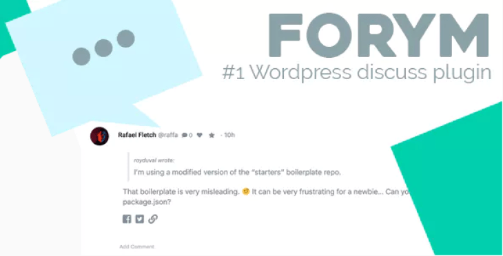Forym Modern Discussion Forum for WordPress