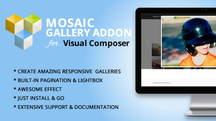 Mosaic Gallery Addon para o Visual Composer