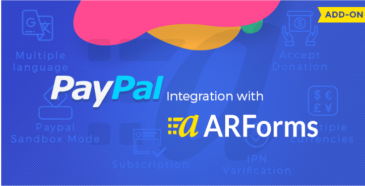 Paypal addon for arforms 1