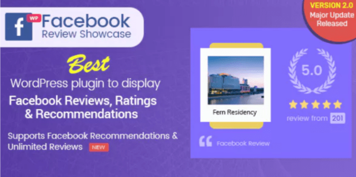 WP Facebook Review Showcase