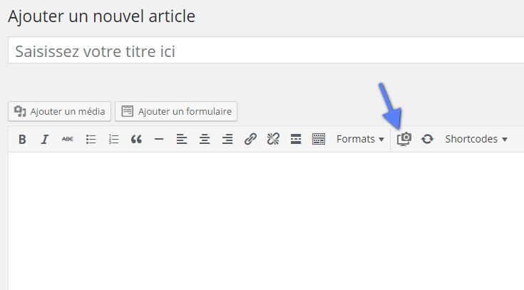 captura de tela do site do WordPress