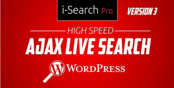 meilleurs plugins WordPress de recherche - I search pro ultimate live search plugin wordpress
