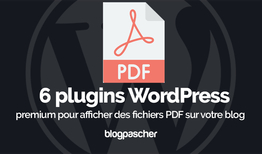 Plugin Wordpress Afficher Fichiers Pdf Blog