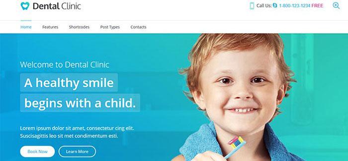 Dental-Clinic-10-themes-wordpress-cabinet-dentaire-blogpascher