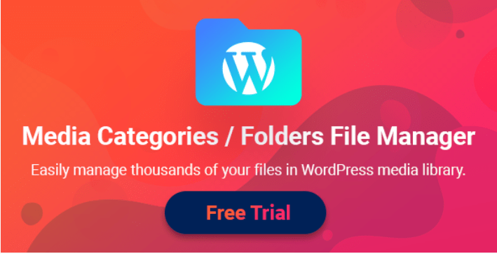 Filebird media categories folders file manager for wordpress
