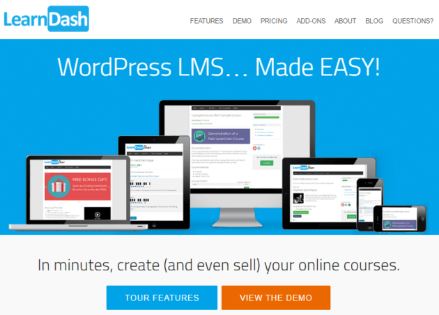 LearnDash-plugin WordPress