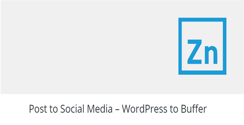 Post to social media plugin wordpress publicité 1