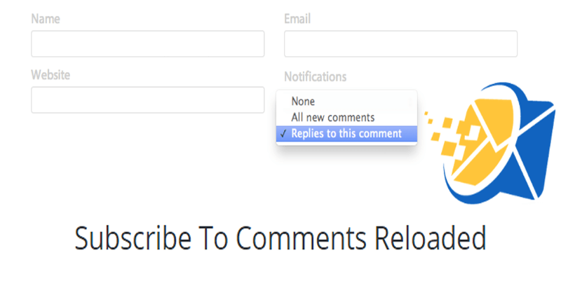 Subscribe to comments reloaded plugin wordpress publicité