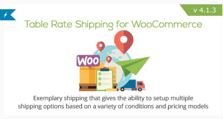 Table rate shipping for woocommerce 2