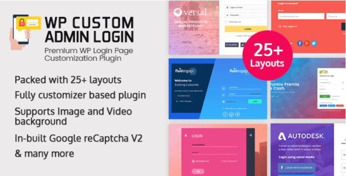 Wp custom admin login wordpress plugin to make a customized admin login page
