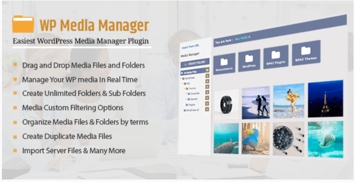 Wp media manager the easiest wordpress media manager plugin