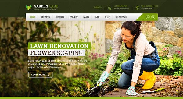 10 WordPress temas para un sitio web agricultor o granjero | BlogPasCher