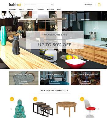 Habitat – Un Thème WordPress Pour Site Web De ECommerce
