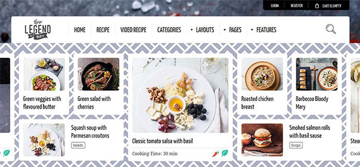 10 temas de WordPress para el sitio web de recetas de cocina ...