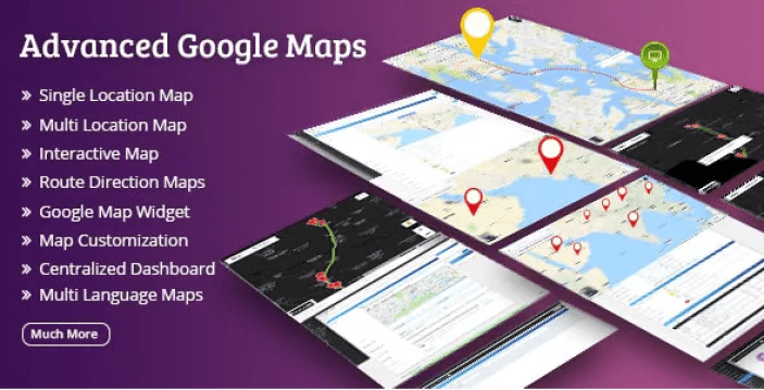 Advanced google maps plugin wordpress