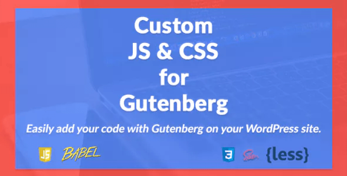 Custom js and css for gutenberg plugin wordpress