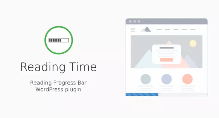 Reading time plugin wordpress barre progression