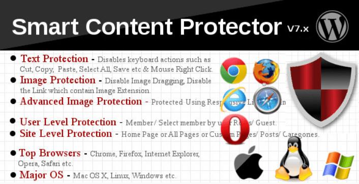 Smart Content Protector Pro защита от копирования WP