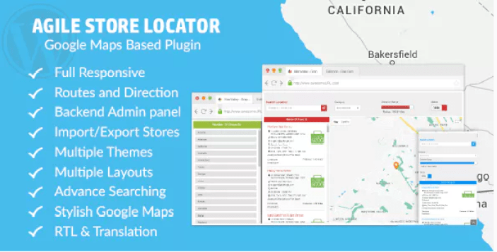 Store locator google maps plugin wordpress