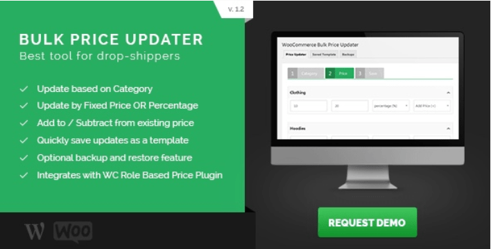 Woocommerce bulk price updater plugins wordpress editer produits vrac