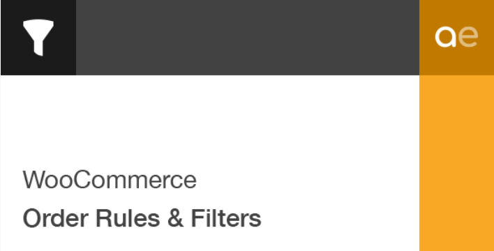 Woocommerce order rules filters