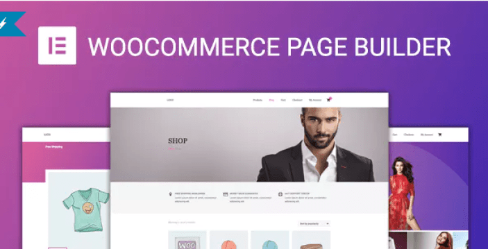 Woocommerce page builder for elementor plugin wordpress