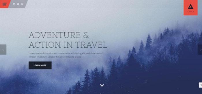gnar-10-tema-wordpress-situs-web-agen perjalanan-blogpascher