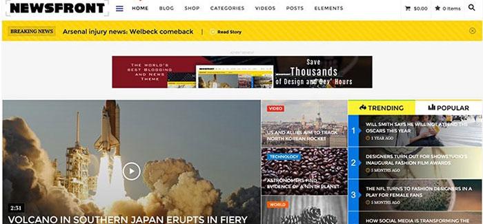 Newsfront-10-temi-per-wordpress-magazine-blogpascher