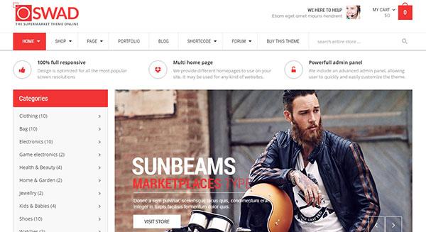 Oswad creation plateforme ventes produits en ligne marketplace