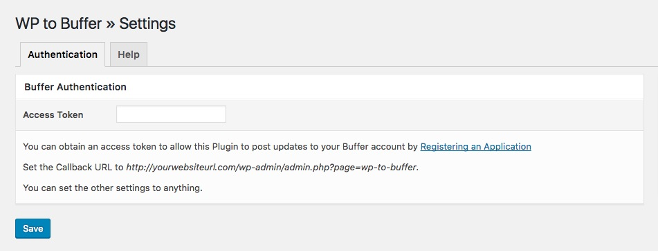wp-to-buffer-authentication