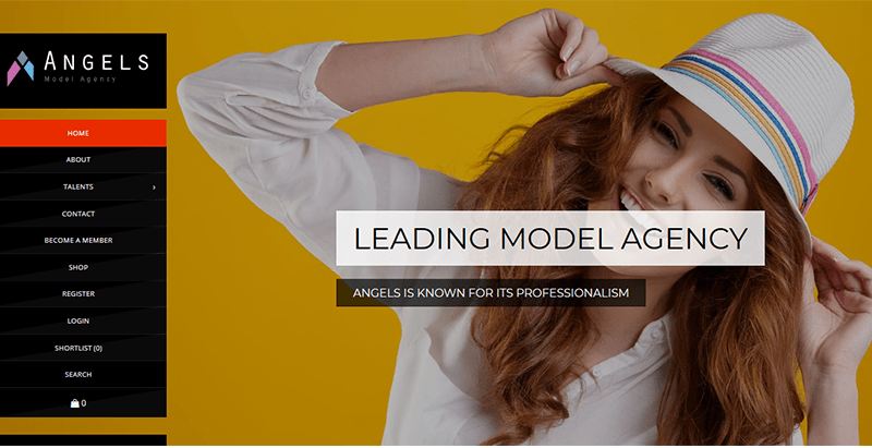 Angels themes wordpress creer site internet top models