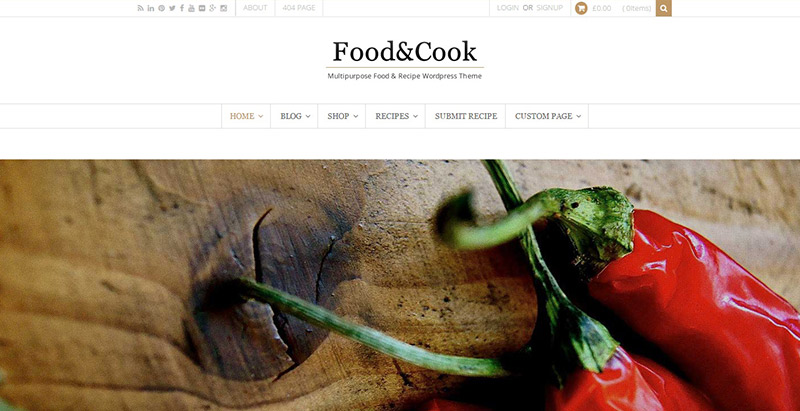 food-cook-theme-wordpress-creer-site-internet-restaurant