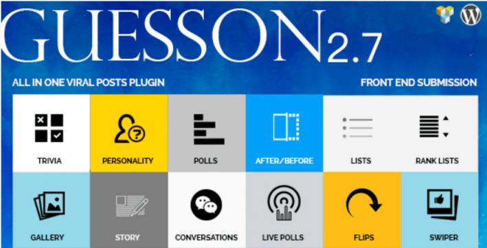 meilleurs plugins WordPress - Guesson all in one viral quiz polls wordpress e1543471576553