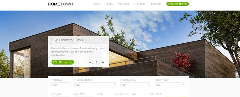 10 Temas de WordPress para el sitio web del agente inmobiliario ...