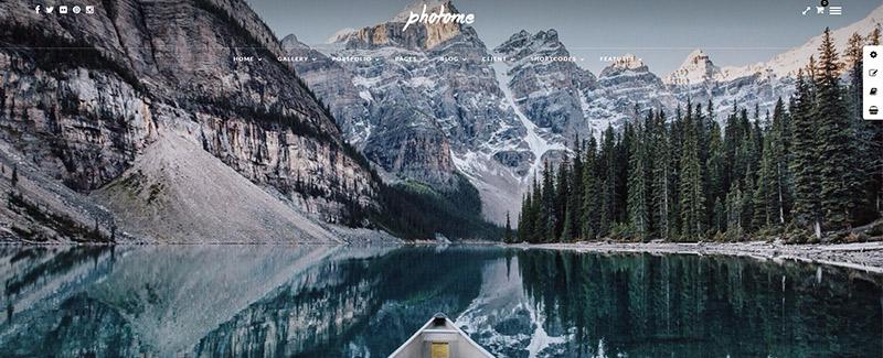 -Site-internet-fotógrafo-fotografias wordpress-full-screen PhotoME-theme