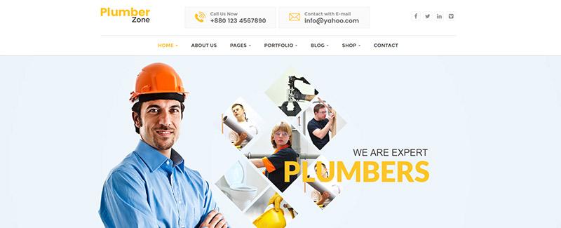 plumber-zone-themes-wordpress-entreprise-plombier-renovation