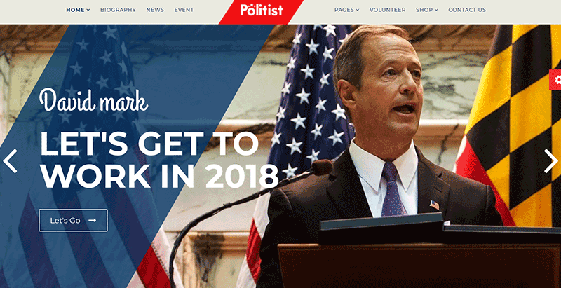 Politist premium wordpress theme