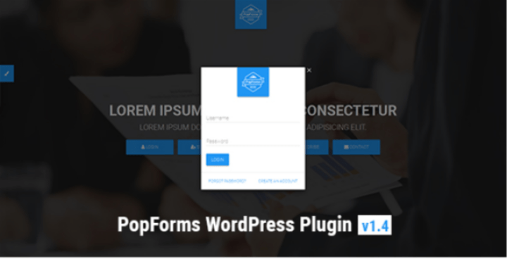 PopForms captcha wordpress plugin