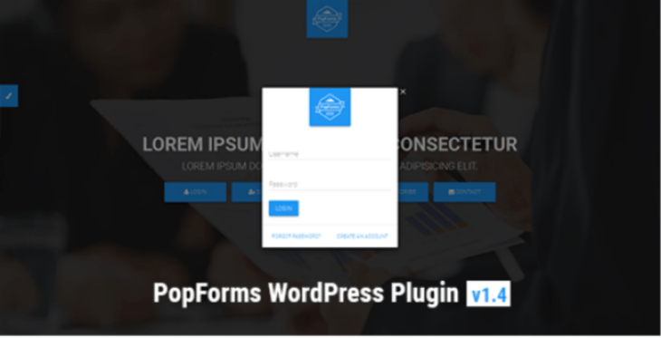 Popforms captcha wordpress plugin
