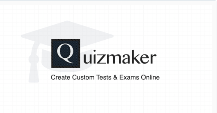 Quizmaker create custom tests and exams online